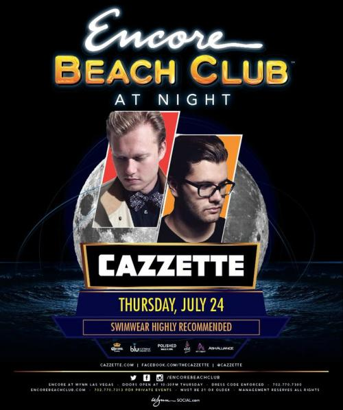 Surrender Nightclub Las Vegas Featuring Cazzette